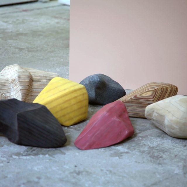 Stones - Shape 2, 3, 8, 10, 11, 18, 19 / Margré Steensma / 2018