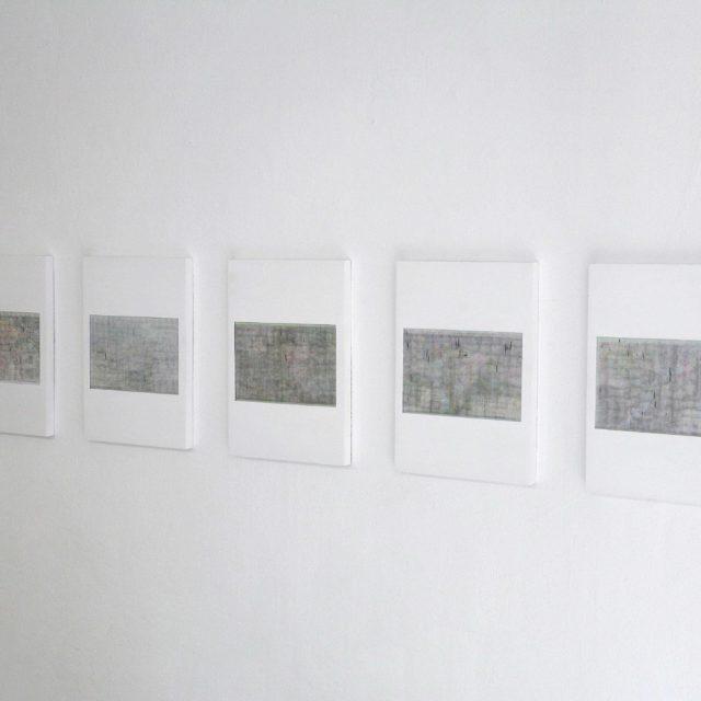 Untitled (Transcription) I-V / João Freitas / 2019