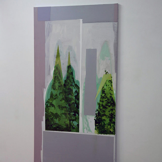 Cypresses / Louise Souvagie / 2019