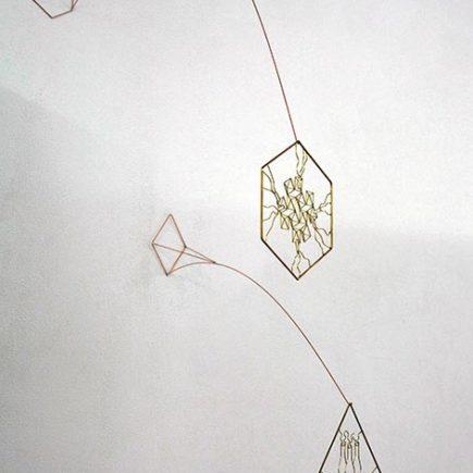 Miniature (Pyrite) + Miniature (Mask) / Elise Eeraerts / 2019