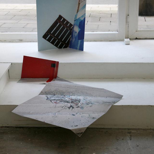 Pallette Papier Poto rouge/Daniel Wagener/2021